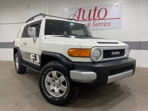 2010 Toyota FJ Cruiser for sale at Auto Sales & Service Wholesale in Indianapolis IN