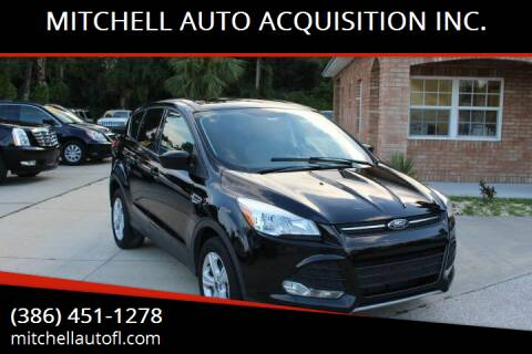 2016 Ford Escape for sale at MITCHELL AUTO ACQUISITION INC. in Edgewater FL