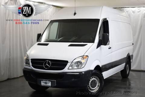 2011 Mercedes-Benz Sprinter Cargo for sale at ZONE MOTORS in Addison IL