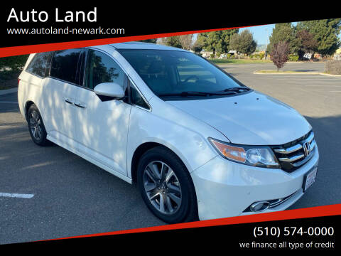 2014 Honda Odyssey for sale at Auto Land in Newark CA