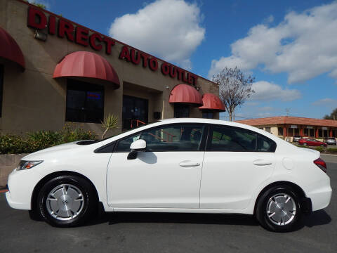 2013 Honda Civic for sale at Direct Auto Outlet LLC in Fair Oaks CA