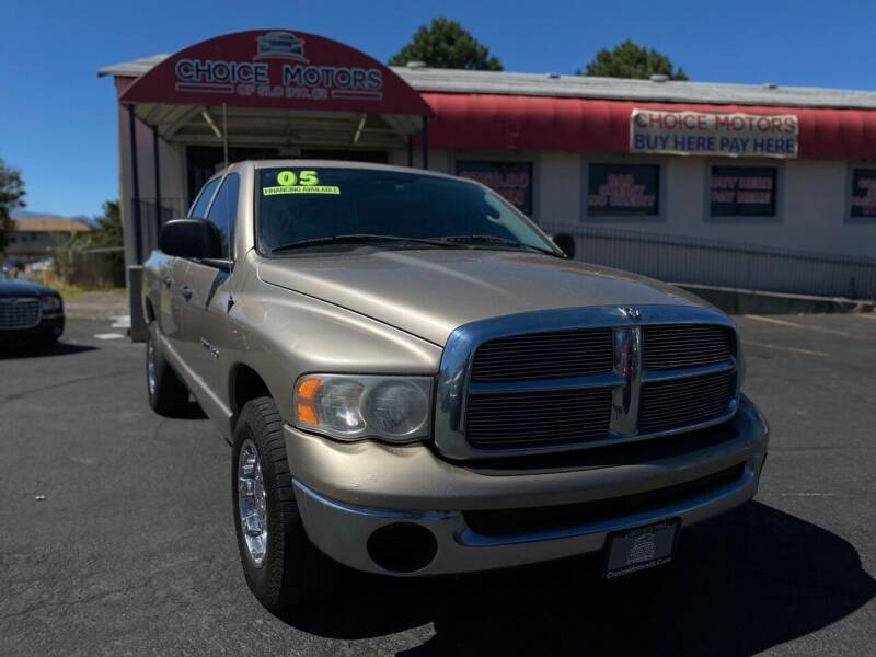 2005 Dodge Ram Pickup 1500 for sale at Choice Motors of Salt Lake City in West Valley  City UT