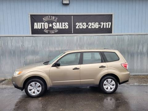 2009 Subaru Forester for sale at Austin's Auto Sales in Edgewood WA