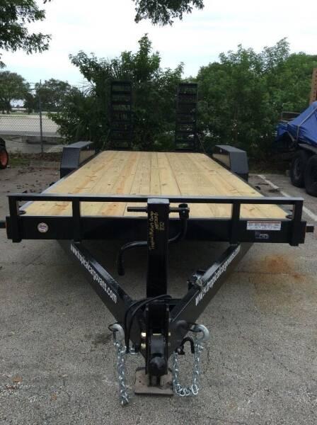 2022 Bigfoot Trailers LLC 14ET20XP for sale at Tropical Motors Cargo Vans and Car Sales Inc. in Pompano Beach FL