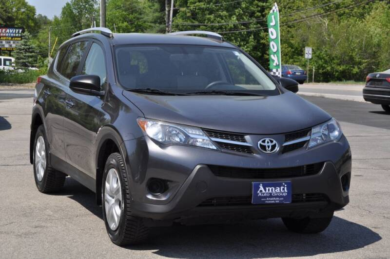 2013 Toyota RAV4 for sale at Amati Auto Group in Hooksett NH
