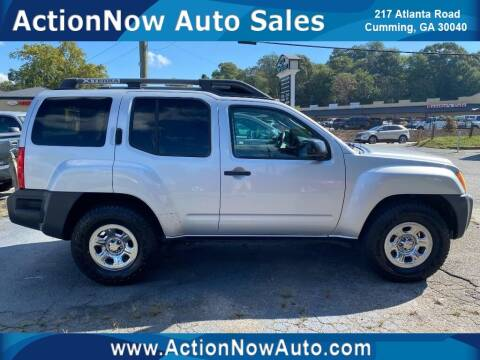 2008 Nissan Xterra for sale at ACTION NOW AUTO SALES in Cumming GA