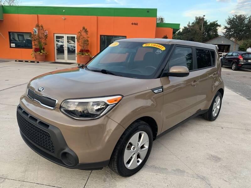 2016 Kia Soul for sale at Galaxy Auto Service, Inc. in Orlando FL