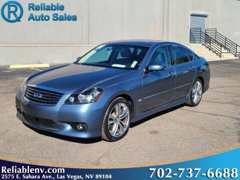 2008 Infiniti M35 for sale at Reliable Auto Sales in Las Vegas NV
