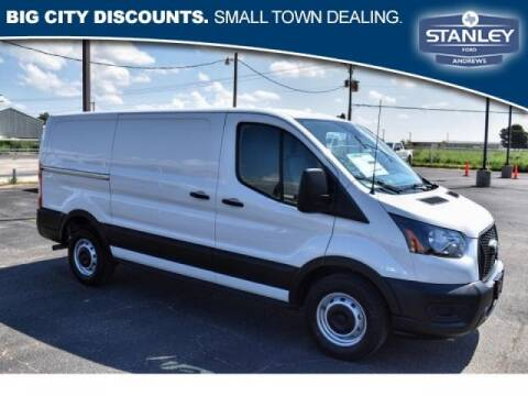 2021 Ford Transit Cargo for sale at STANLEY FORD ANDREWS in Andrews TX
