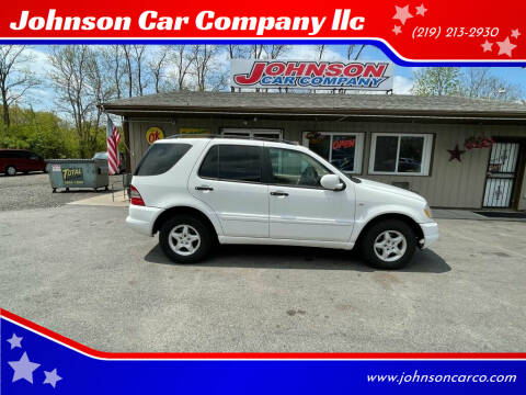 2000 Mercedes-Benz M-Class for sale at Johnson Car Company llc in Crown Point IN