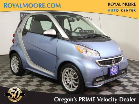 2013 Smart fortwo electric drive for sale at Royal Moore Custom Finance in Hillsboro OR