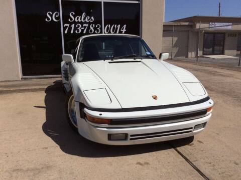 1988 Porsche 911 for sale at SC SALES INC in Houston TX