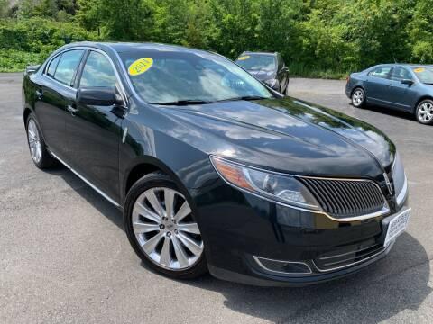 2014 Lincoln MKS for sale at Bob Karl's Sales & Service in Troy NY