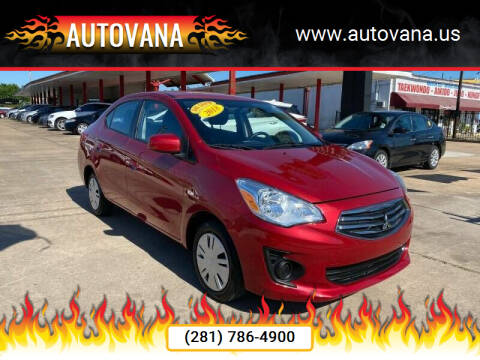 2018 Mitsubishi Mirage G4 for sale at AutoVana in Humble TX