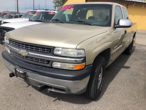 2002 Chevrolet Silverado 1500 for sale at BELOW BOOK AUTO SALES in Idaho Falls ID