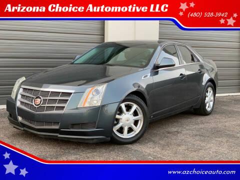 2009 Cadillac CTS for sale at Arizona Choice Automotive LLC in Mesa AZ