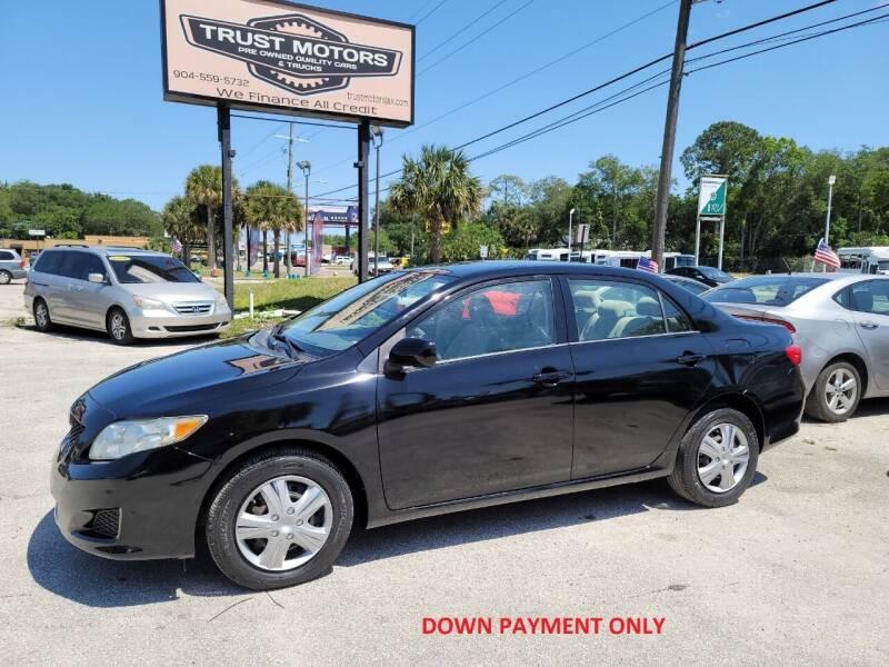 2009 Toyota Corolla for sale at Trust Motors in Jacksonville FL