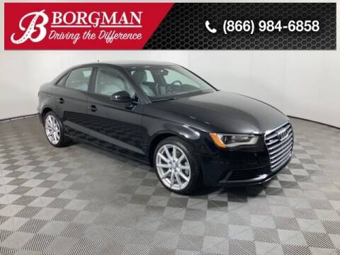 2016 Audi A3 for sale at BORGMAN OF HOLLAND LLC in Holland MI