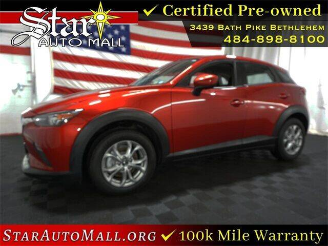 2018 Mazda CX-3 for sale at STAR AUTO MALL 512 in Bethlehem PA