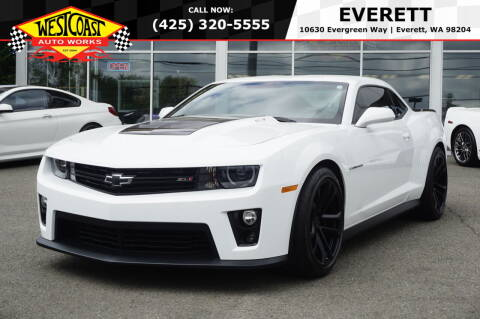 2013 Chevrolet Camaro for sale at West Coast Auto Works in Edmonds WA