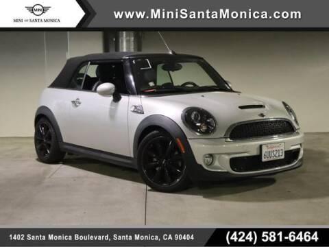 2012 MINI Cooper Convertible for sale at MINI OF SANTA MONICA in Santa Monica CA
