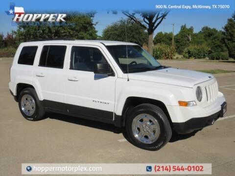 2016 Jeep Patriot for sale at HOPPER MOTORPLEX in Mckinney TX