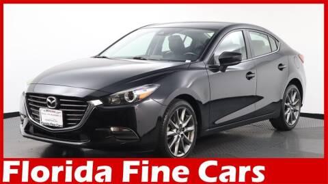 2018 Mazda MAZDA3 for sale at Florida Fine Cars - West Palm Beach in West Palm Beach FL