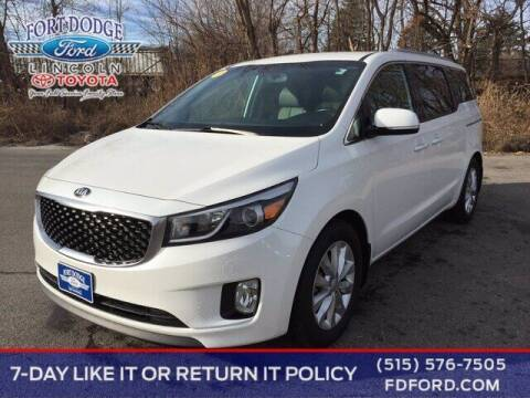 2016 Kia Sedona for sale at Fort Dodge Ford Lincoln Toyota in Fort Dodge IA