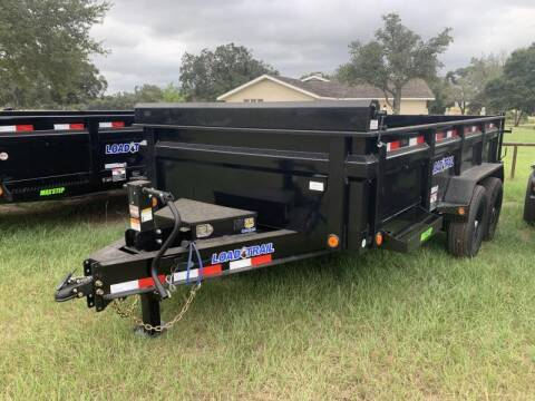 2022 Load Trail DT8314 83X14 14K DUMP 2' SIDES for sale at The Trailer Lot in Hallettsville TX
