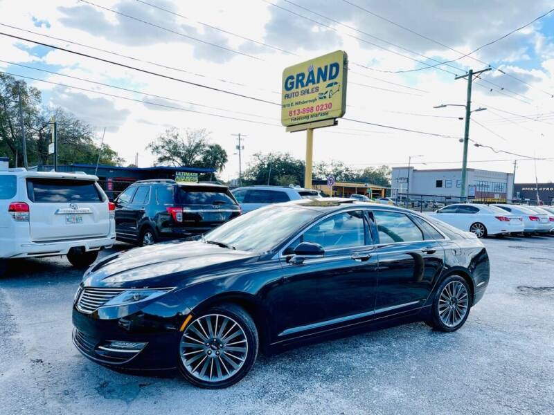 2016 Lincoln MKZ for sale at Grand Auto Sales in Tampa FL