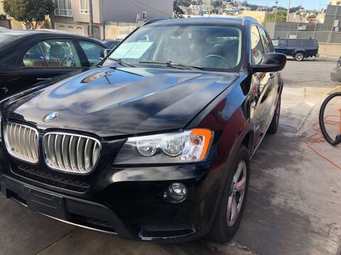 2011 BMW X3 for sale at Excelsior Motors , Inc in San Francisco CA