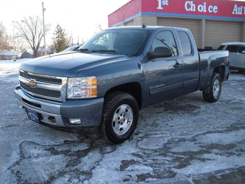 2012 Chevrolet Silverado 1500 for sale at 1st Choice Auto Inc in Green Bay WI