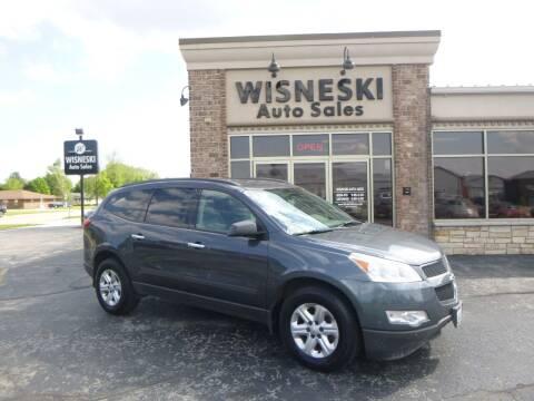 2011 Chevrolet Traverse for sale at Wisneski Auto Sales, Inc. in Green Bay WI
