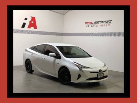 2017 Toyota Prius for sale at Royal AutoSport in Sacramento CA