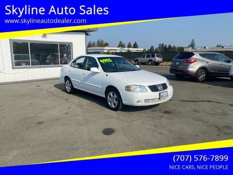 2005 Nissan Sentra for sale at Skyline Auto Sales in Santa Rosa CA