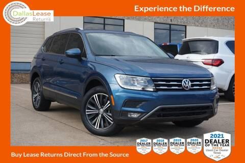 2018 Volkswagen Tiguan for sale at Dallas Auto Finance in Dallas TX