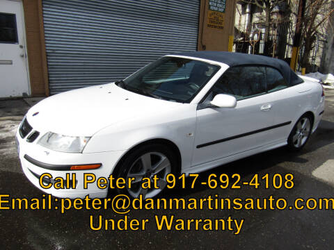 2007 Saab 9-3 for sale at Dan Martin's Auto Depot LTD in Yonkers NY