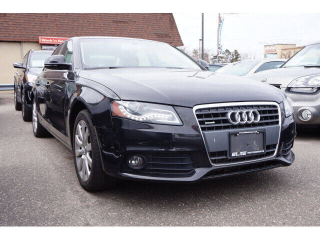 2009 Audi A4 for sale at Sunrise Used Cars INC in Lindenhurst NY