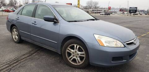 2007 Honda Accord for sale at speedy auto sales in Indianapolis IN