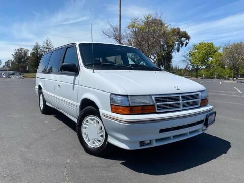 1993 Dodge Grand Caravan for sale at CARFORNIA SOLUTIONS in Hayward CA