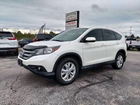 2014 Honda CR-V for sale at Premier Auto Sales Inc. in Big Rapids MI