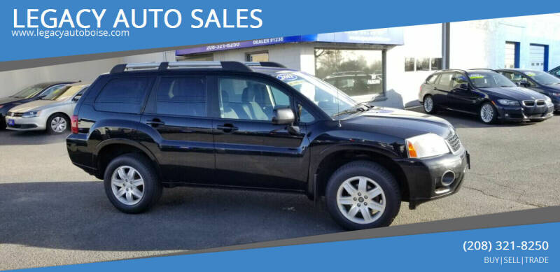 2011 Mitsubishi Endeavor for sale at LEGACY AUTO SALES in Boise ID