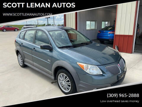 2008 Pontiac Vibe for sale at SCOTT LEMAN AUTOS in Goodfield IL