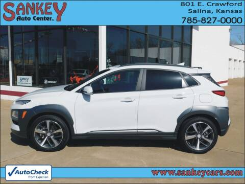 2020 Hyundai Kona for sale at Sankey Auto Center, Inc in Salina KS