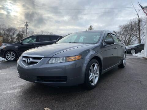 2005 Acura TL for sale at SOUTH SHORE AUTO GALLERY, INC. in Abington MA