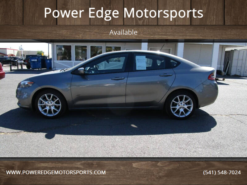 2013 Dodge Dart for sale at Power Edge Motorsports in Redmond OR