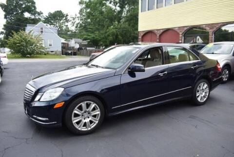 2013 Mercedes-Benz E-Class for sale at Absolute Auto Sales, Inc in Brockton MA