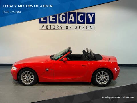 2005 BMW Z4 for sale at LEGACY MOTORS OF AKRON in Akron OH