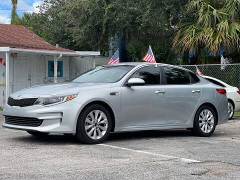 2016 Kia Optima for sale at Bargain Auto Sales in West Palm Beach FL