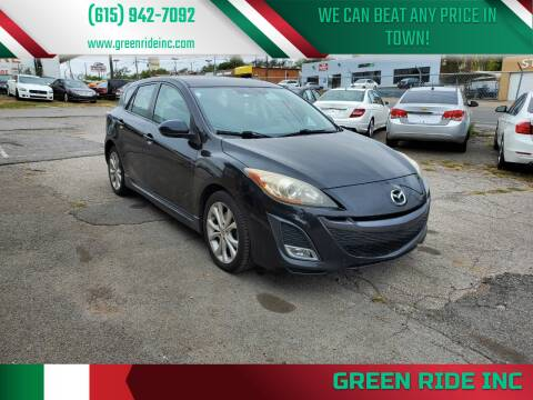 2010 Mazda MAZDA3 for sale at Green Ride Inc in Nashville TN